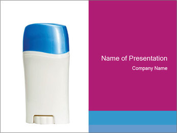 Aromatic Deo PowerPoint Template - Slide 1