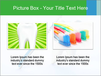 White Tooth and Brush PowerPoint Template - Slide 18