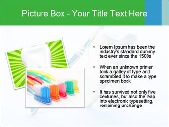 White Tooth and Brush PowerPoint Template - Slide 20