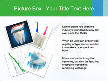 White Tooth and Brush PowerPoint Template - Slide 23