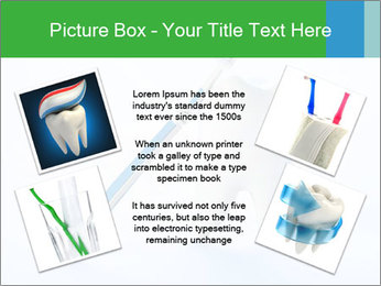White Tooth and Brush PowerPoint Template - Slide 24