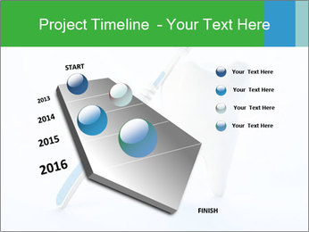 White Tooth and Brush PowerPoint Template - Slide 26