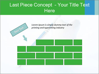 White Tooth and Brush PowerPoint Template - Slide 46