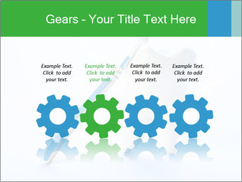 White Tooth and Brush PowerPoint Template - Slide 48