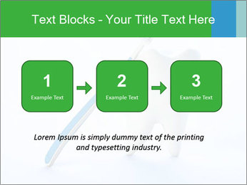 White Tooth and Brush PowerPoint Template - Slide 71