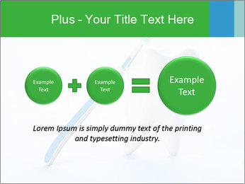 White Tooth and Brush PowerPoint Template - Slide 75
