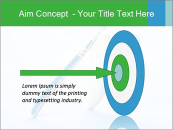 White Tooth and Brush PowerPoint Template - Slide 83