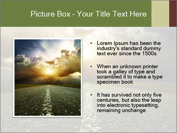 Dark Highway PowerPoint Template - Slide 13