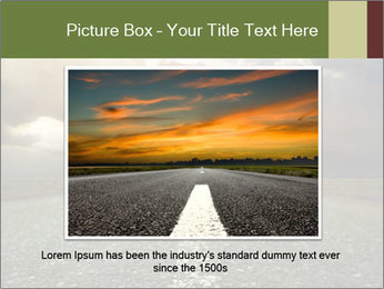 Dark Highway PowerPoint Template - Slide 15