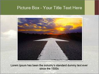 Dark Highway PowerPoint Template - Slide 16