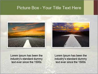 Dark Highway PowerPoint Template - Slide 18