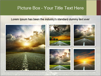 Dark Highway PowerPoint Template - Slide 19