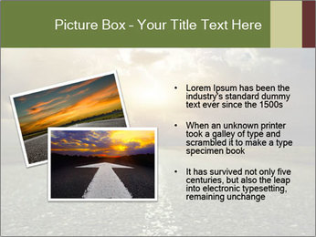 Dark Highway PowerPoint Template - Slide 20