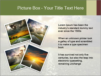 Dark Highway PowerPoint Template - Slide 23