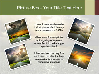 Dark Highway PowerPoint Template - Slide 24