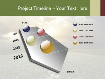 Dark Highway PowerPoint Template - Slide 26