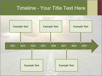 Dark Highway PowerPoint Template - Slide 28