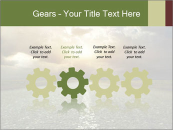 Dark Highway PowerPoint Template - Slide 48