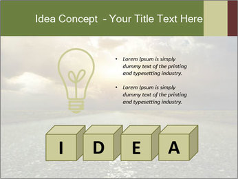 Dark Highway PowerPoint Template - Slide 80