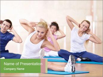 Aerobics Class PowerPoint Templates - Slide 1