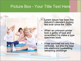Aerobics Class PowerPoint Templates - Slide 13