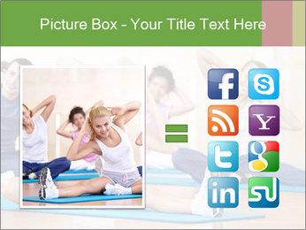 Aerobics Class PowerPoint Templates - Slide 21