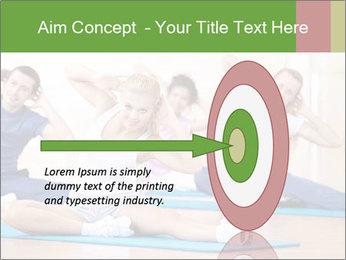 Aerobics Class PowerPoint Templates - Slide 83