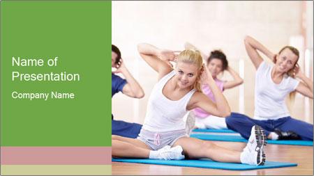 Aerobics Class PowerPoint Template