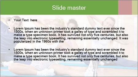 Aerobics Class PowerPoint Template - Slide 2