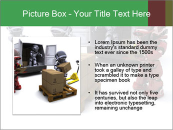 3D Robot Workers PowerPoint Templates - Slide 13