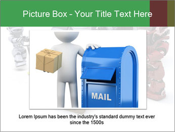 3D Robot Workers PowerPoint Templates - Slide 16