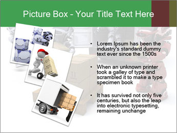 3D Robot Workers PowerPoint Templates - Slide 17