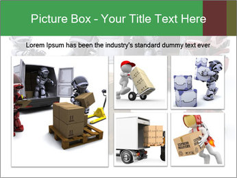 3D Robot Workers PowerPoint Templates - Slide 19