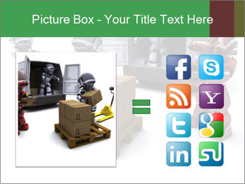 3D Robot Workers PowerPoint Templates - Slide 21