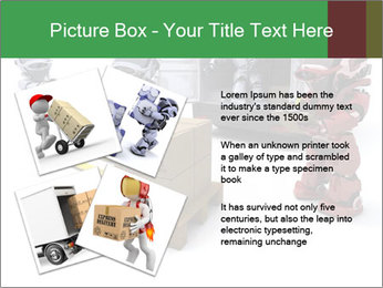 3D Robot Workers PowerPoint Templates - Slide 23