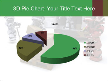 3D Robot Workers PowerPoint Templates - Slide 35