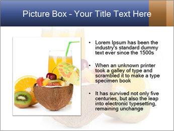 Tropic Breakfast PowerPoint Template - Slide 13