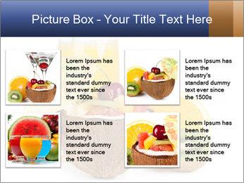 Tropic Breakfast PowerPoint Template - Slide 14