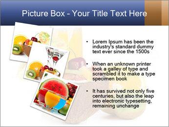 Tropic Breakfast PowerPoint Template - Slide 17