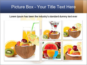 Tropic Breakfast PowerPoint Template - Slide 19