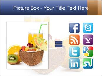 Tropic Breakfast PowerPoint Template - Slide 21