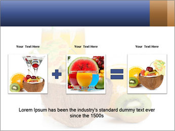 Tropic Breakfast PowerPoint Template - Slide 22