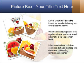 Tropic Breakfast PowerPoint Template - Slide 23