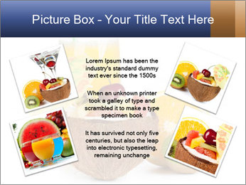 Tropic Breakfast PowerPoint Template - Slide 24