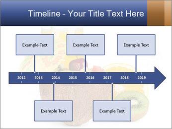 Tropic Breakfast PowerPoint Template - Slide 28
