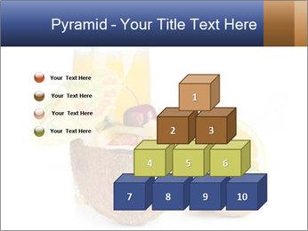 Tropic Breakfast PowerPoint Template - Slide 31