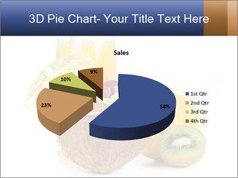 Tropic Breakfast PowerPoint Template - Slide 35
