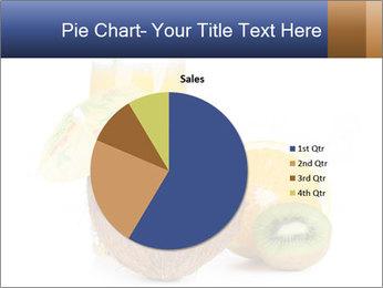 Tropic Breakfast PowerPoint Template - Slide 36