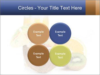 Tropic Breakfast PowerPoint Template - Slide 38
