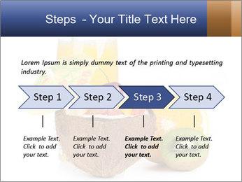 Tropic Breakfast PowerPoint Template - Slide 4
